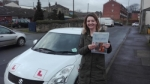 Yvette Crook - Cleckheaton passed with Rev and Go Automatic Driving School