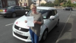 Yvonne Bolas - Batley passed with Rev and Go Automatic Driving School