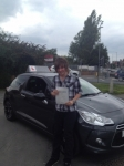 Josh Hoole passed with Richard Lumb Driving School