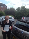 Kate Smith passed with Richard Lumb Driving School