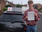 Alex Moore passed with Richard Lumb Driving School