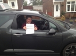 Jo Briggs passed with Richard Lumb Driving School