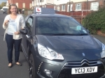Natasha Johnson passed with Richard Lumb Driving School