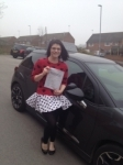 Lucy Hayman passed with Richard Lumb Driving School