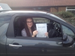Rachael Spence passed with Richard Lumb Driving School