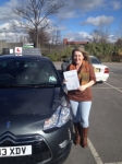 Anne Ainsworth passed with Richard Lumb Driving School