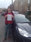 Oliver Culley De Lange passed with Richard Lumb Driving School