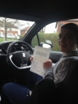 Alex Richards passed with Richard Lumb Driving School