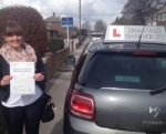 Emma Sibson passed with Richard Lumb Driving School