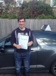 Louis Dunbavin passed with Richard Lumb Driving School