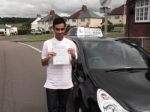 Abdul passed with Ray Lowe School Of Motoring
