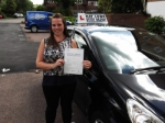 Amy passed with Ray Lowe School Of Motoring