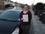 Charlotte Foster passed with Ray Lowe School Of Motoring