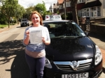 Grace  Walsh passed with Ray Lowe School Of Motoring