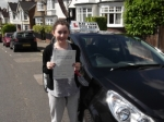 Sam passed with Ray Lowe School Of Motoring