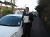 Raph passed with Ray Lowe School Of Motoring
