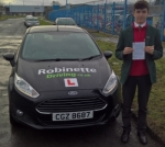 Charlie Kenny passed with Robinette Driving