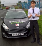 Jack Baird passed with Robinette Driving