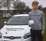 Jack Brown passed with Robinette Driving