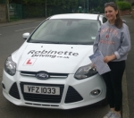 Kerith McNally  passed with Robinette Driving