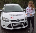 Kirsty Wilson passed with Robinette Driving