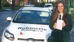Laura Thompson passed with Robinette Driving
