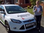 Molly McCartney passed with Robinette Driving