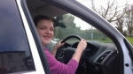 Rebecca Galbraith passed with Robinette Driving