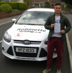 Scott McCabe passed with Robinette Driving