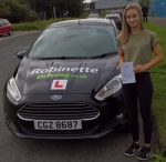 Zoe Hagan passed with Robinette Driving