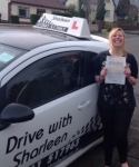 Alissa Brown passed with Drive with Sharleen