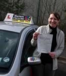 Aisling Greed passed with Drive with Sharleen