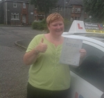 Angela McBrearty passed with Drive with Sharleen