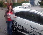 April Moore passed with Drive with Sharleen