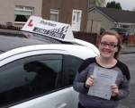 Caitlin McGhee passed with Drive with Sharleen