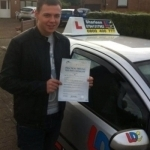 Chris Matheson passed with Drive with Sharleen