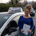 Claire Blyth passed with Drive with Sharleen