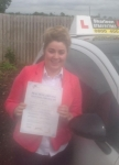 Colleen Mcgeogh passed with Drive with Sharleen