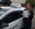 danielle Burnett passed with Drive with Sharleen