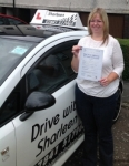 Elaine White passed with Drive with Sharleen