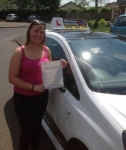Emma Bennett passed with Drive with Sharleen