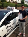 Frazer Watson  passed with Drive with Sharleen