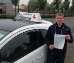 Jack Reid passed with Drive with Sharleen