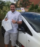 Jamie Galbraith passed with Drive with Sharleen
