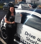 Kellyann Ruddy passed with Drive with Sharleen