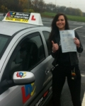 Laura Brown passed with Drive with Sharleen