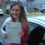 Lois Pedley passed with Drive with Sharleen