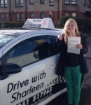 Louise Hardwidge passed with Drive with Sharleen