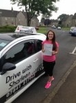 Louise McGarry passed with Drive with Sharleen