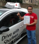 Ronnie Botor Bayos passed with Drive with Sharleen